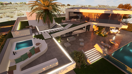 The six characteristics that make our design into a luxury villa.