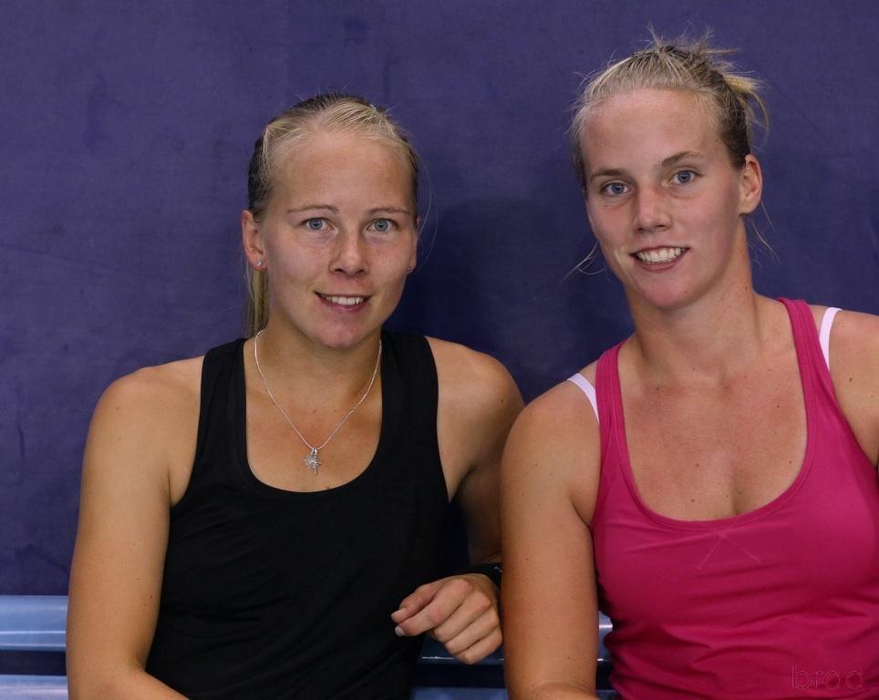 Johanna LARSSON et Richel HOGENKAMP