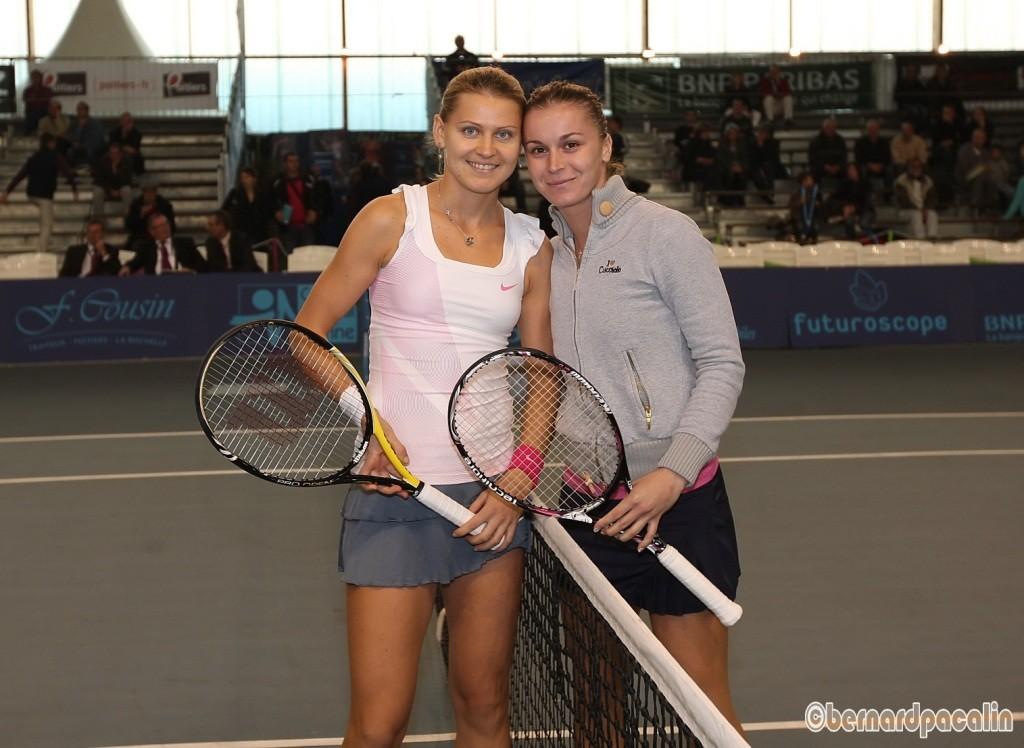 Lucie SAFAROVA et Karolina SPREM