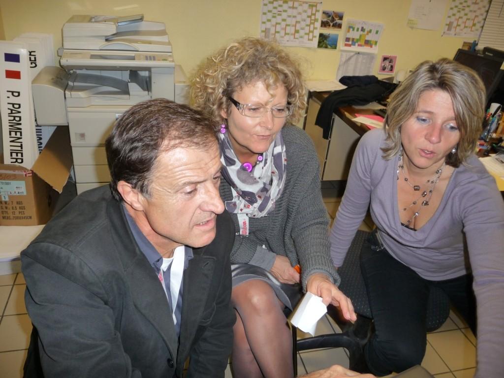 Jean-Luc, Cécile et Barbara