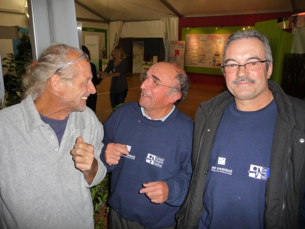 L'équipe logistique, Janlou, Pierre, Jean-Claude