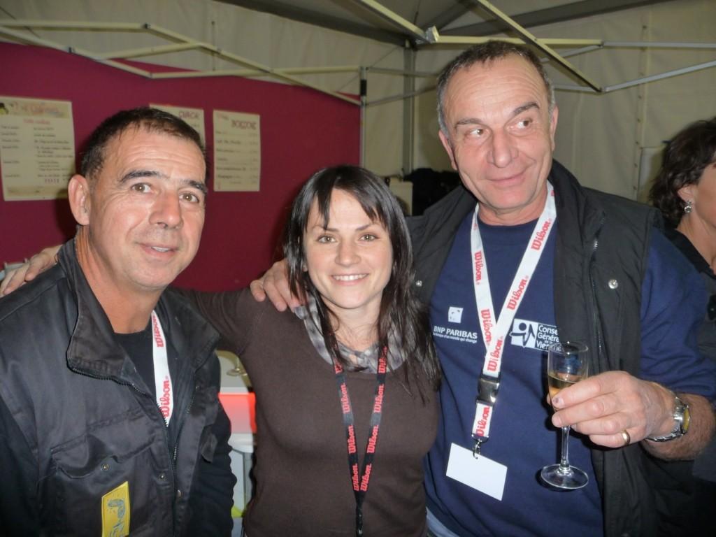 Rémi, Elodie et Alain