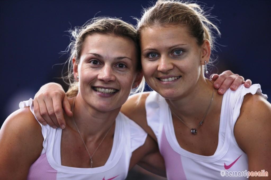 Veronika et Lucie SAFAROVA