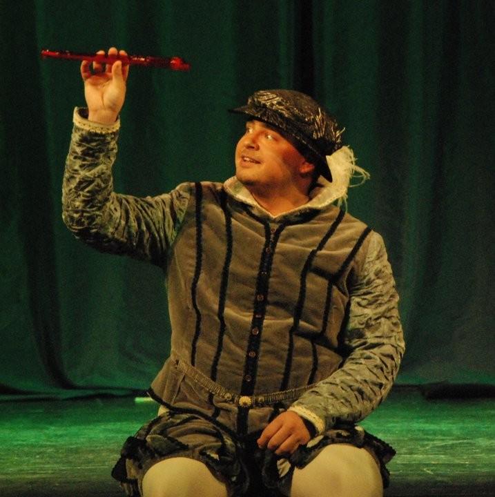 """als Tamino in """"Die Zauberflöte für Kinder"""" von Wolfgang Amadeus Mozart; fotografiert von Ira Lvova"""