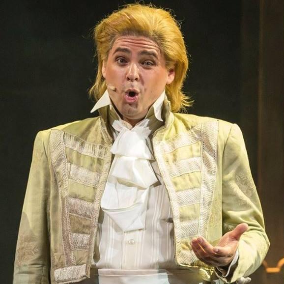 "als Raoul, Vicomte de Chagny in ""Das Phantom der Oper"" von Andrew Lloyd Webber; fotografiert von Christian Herzenberger"