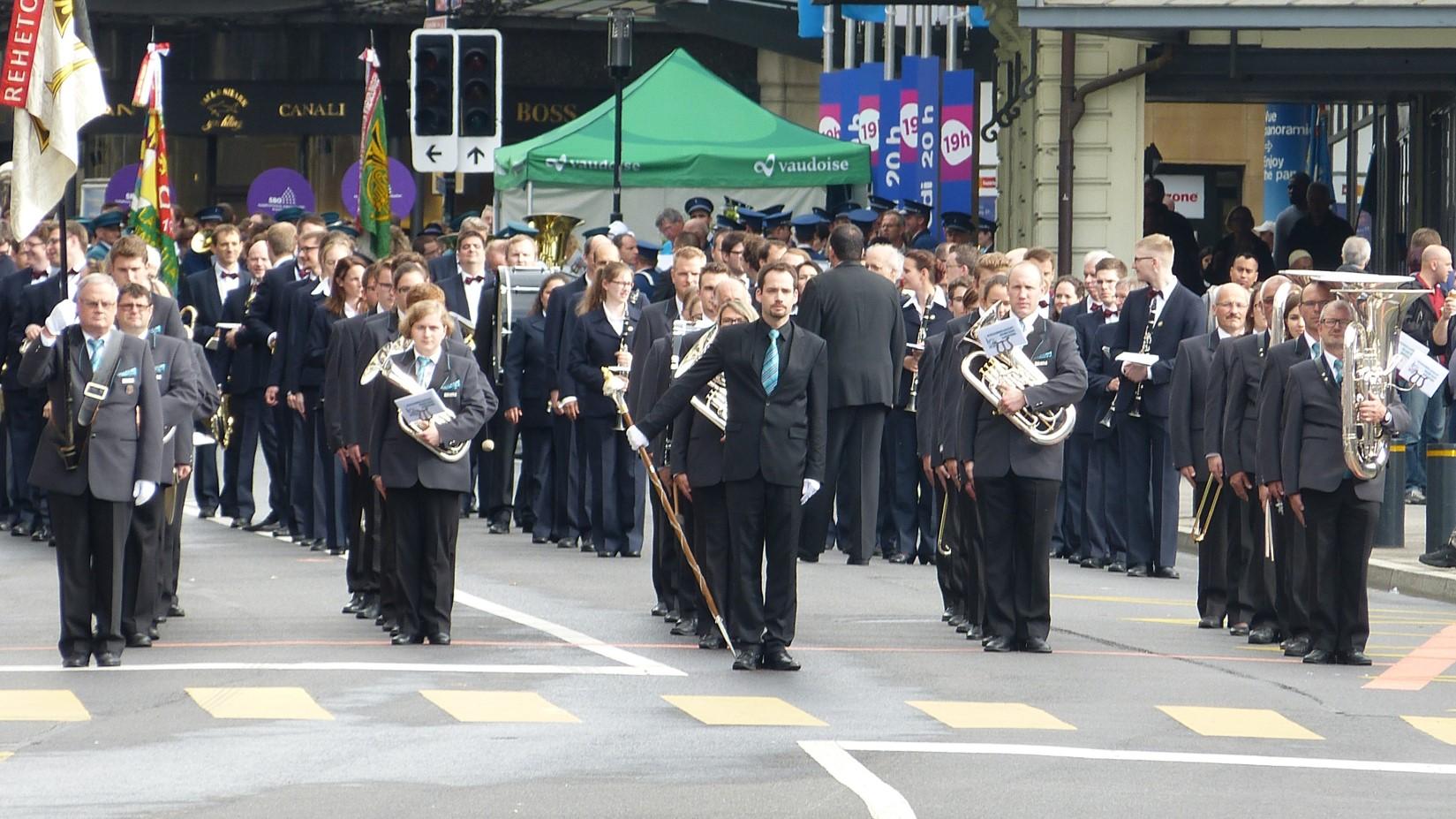 MG Brass Band Rehetobel - Eidg. Musikfest Montreux 2016