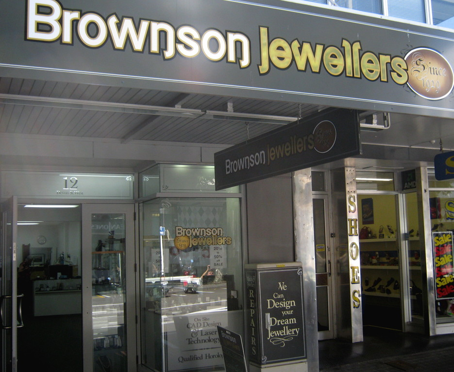 Brownson Jewellers, New Plymouth