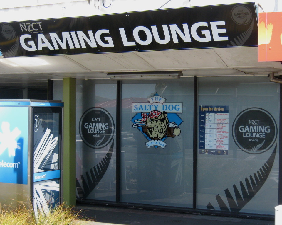 Gaming Lounge,The Salty Dog, New Plymouth