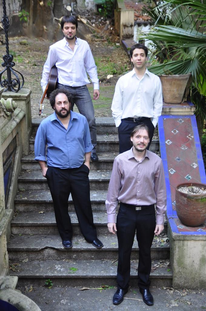 Andrés Vaccarelli, Pablo Boltshauser, Manuel Moreno y Ariel Elijovich