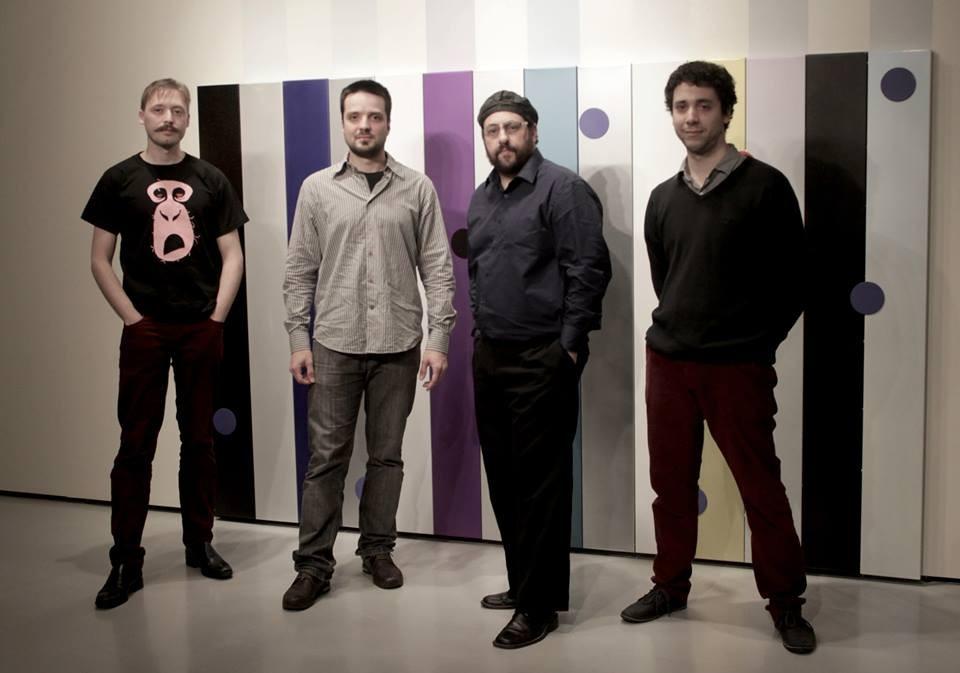 con Pablo Boltshauser, Andrés Vaccarelli y Manuel Moreno