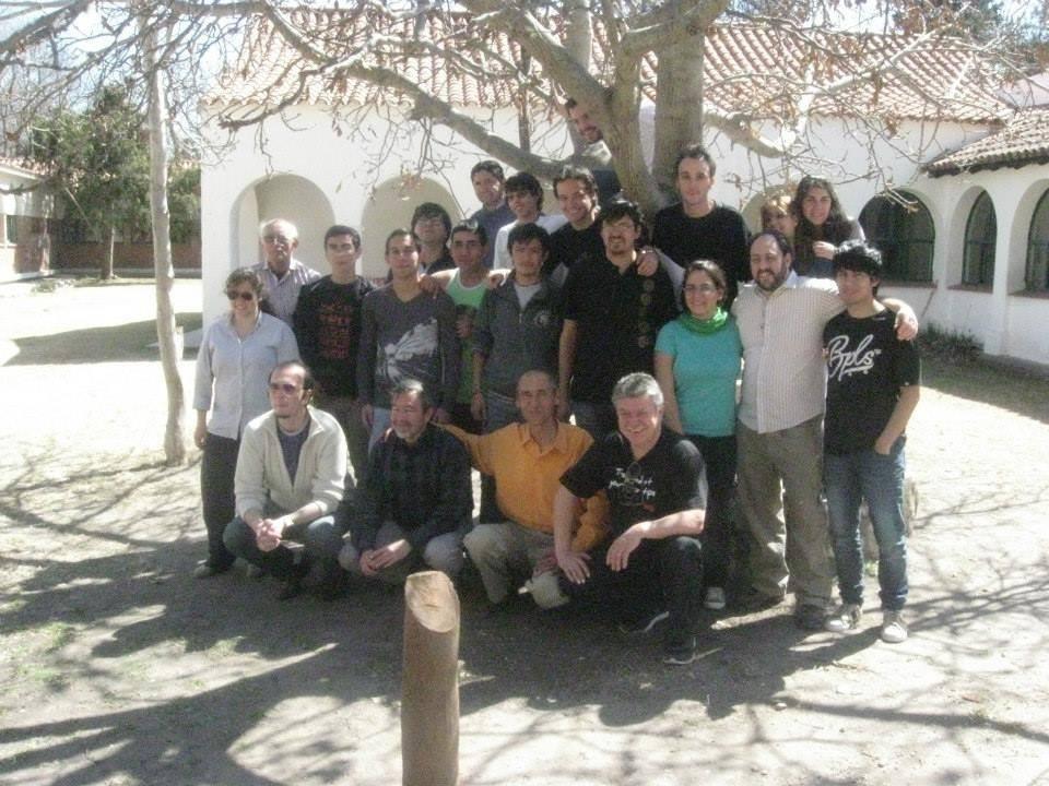 Algunos de los participantes y algunos docentes del Festival en Córdoba