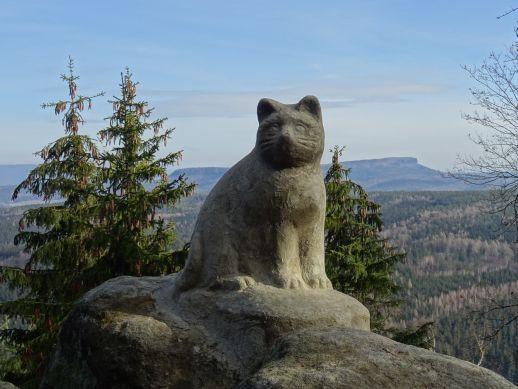 Mit Kindern zu Katzfels und Signal - ein Wandertipp im Elbsandsteingebirge
