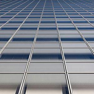 Infinity Glas Facade, Modern Architecture, Skyscraper, Tokyo City, Japan, Asia