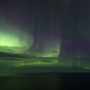 Light Curtains, North Atlantic Ocean, Snaefellsnes Aurora Borealis Northern Lights, Iceland