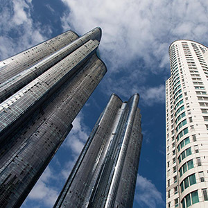 Busan, Haeundae Appartement Skyscrapers, Modern Architecture, South Korea, Asia