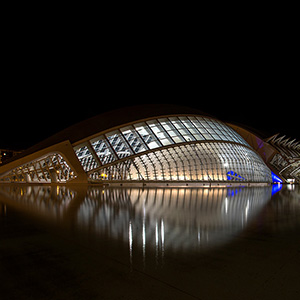 Valencia, Museum, Long Exposure, Modern Architecture, Spain, Europe