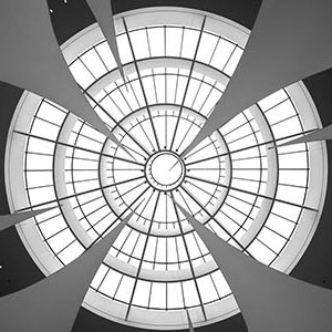 Pinakothek der Moderne Ceiling, Museum, Rotunde, Munich, Germany, Europe