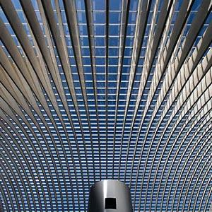 Guillemins Train Station, Modern Architecture, Glas Structures, Liege, Belgium, Europe