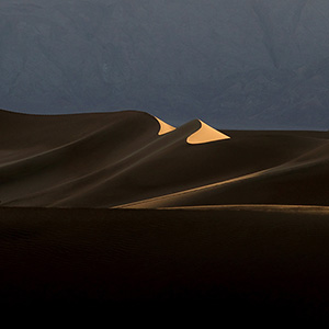 Death Valley Sanddunes last Light, Stovepipe Wells, National Park, California, USA