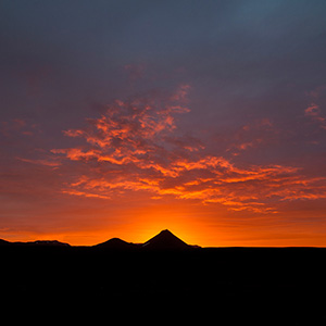 Burning Sky - Northern Iceland; Nordurland, Sunset close to midnight, Scandinavia