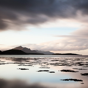 Skye Light Blue, afternoon sunset, Isle of Skye, Scotland, United Kingdom