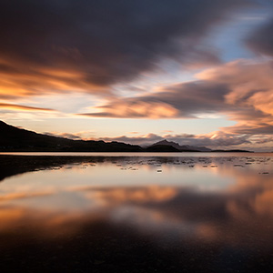 Skye Sunset, Isle of Skye, Long Exposure, Scotland, United Kingdom