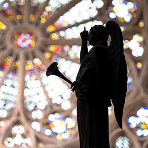 Angel @ Cathedral, Gothic Church, France