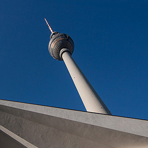 Television Tower, Alexanderplatz, East Berlin, Germany, Europe