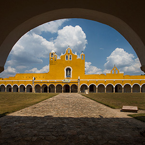 Covento San Antonio, Izamal, Yucatan Peninsula, Mexico