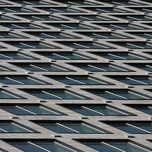 Glas and Stone Facade Details, Graphic, IBC Building, Frankfurt, Germany, Europe