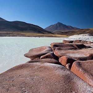 Piedras Rojas Red Sandstone, San Pedro de Atacama, Desert, Chile, South America