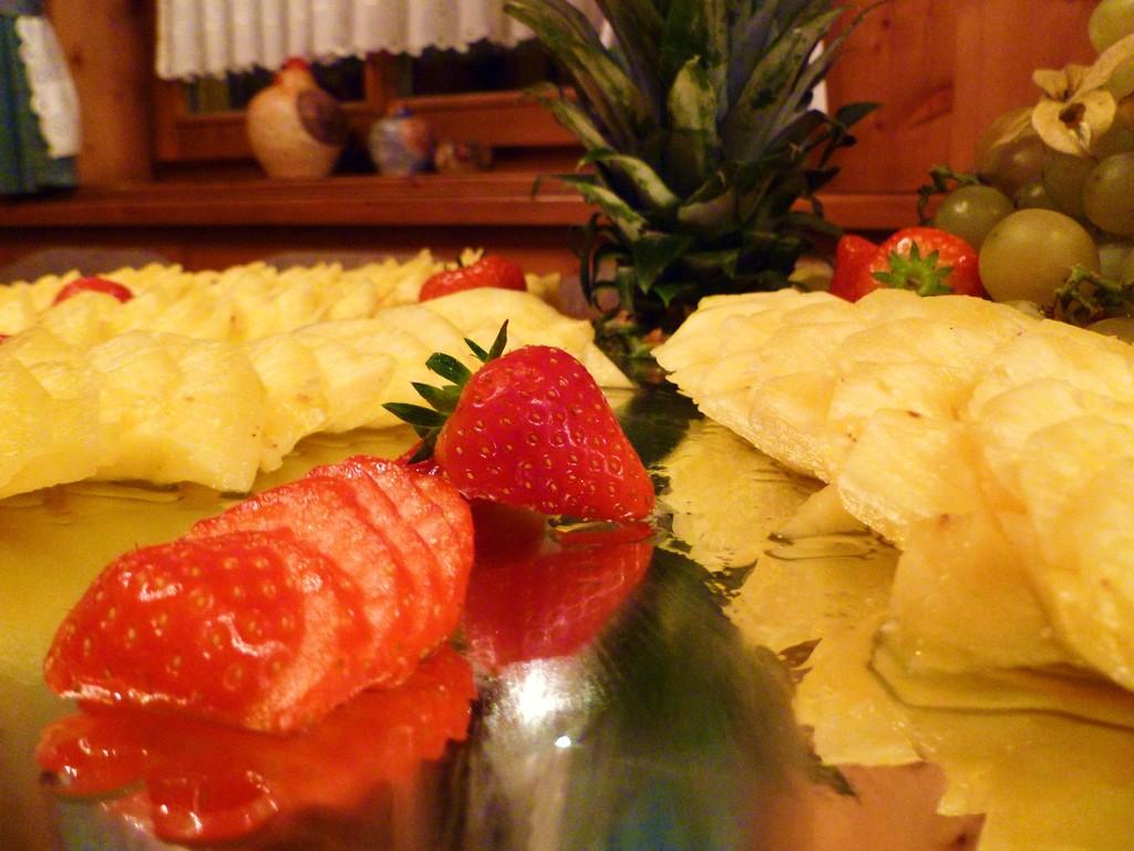 Obst zum Dessert