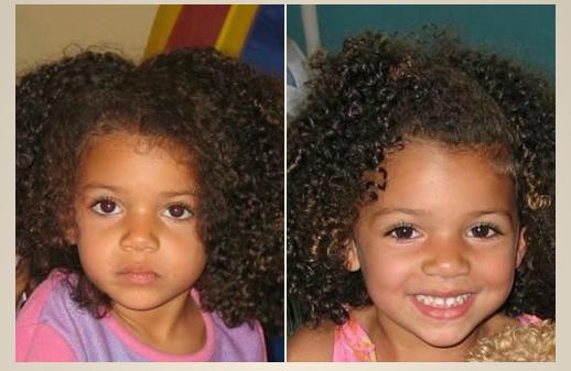 Kinder Haarpflege