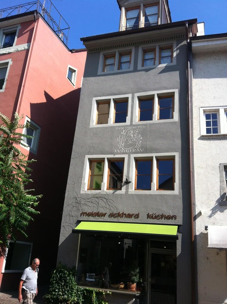 .... das vermutlich älteste Gebäude der Stadt ....