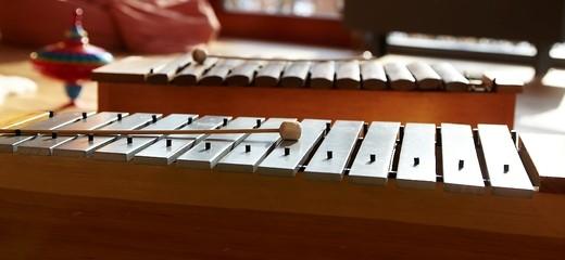 Musiktherapie: Zwei Xylofone