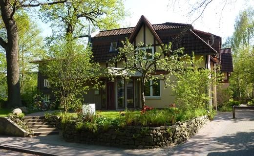 Das Haus Mignon in Nienstedten, Vorderansicht