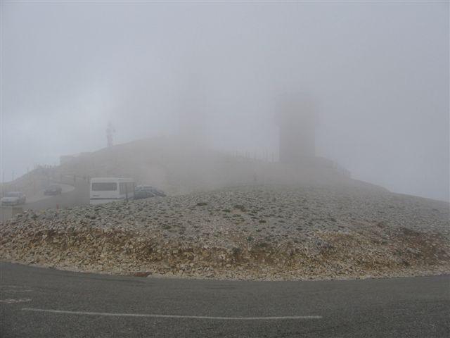 Le Mont Ventoux - Le coach est sur son nuage
