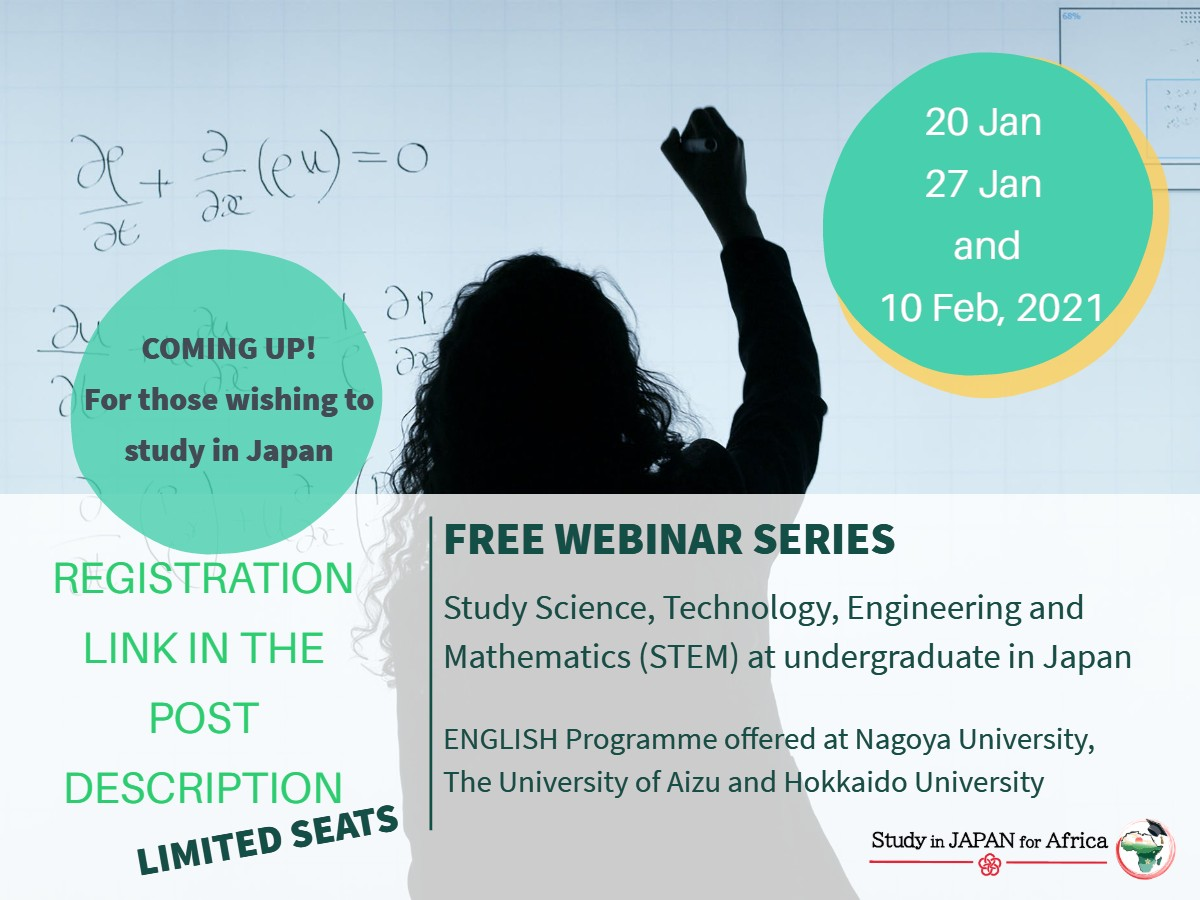 Study in Japan Webinar Information Session