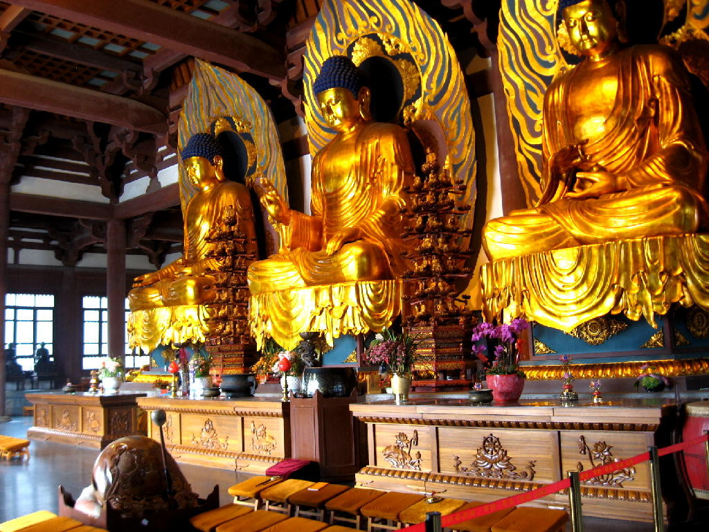 nanxiang - Bhudda passato, presente e futuro