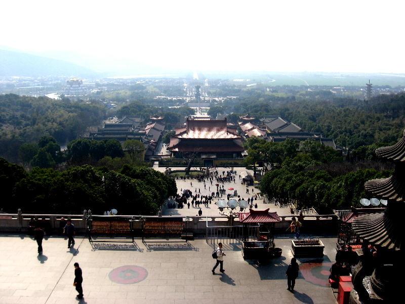 wuxi - panorama dal grande Buddha