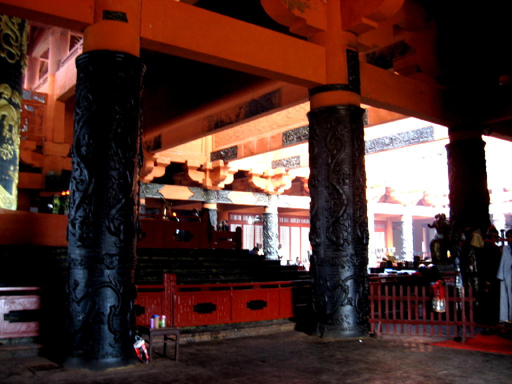 Qin - sala del trono fianco