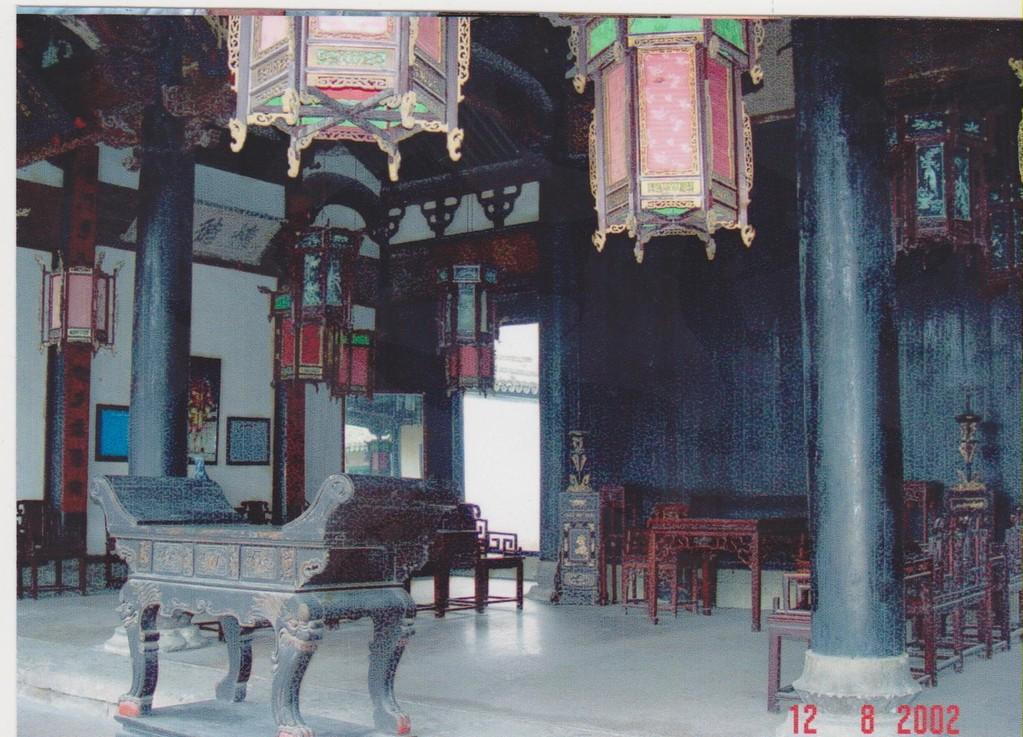 Zhejiang - Hendian - città del cinema - sala imperatore QinShihuang