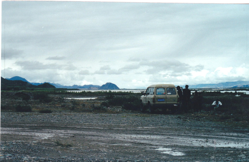 Lhasa  Xigatse sosta in strada
