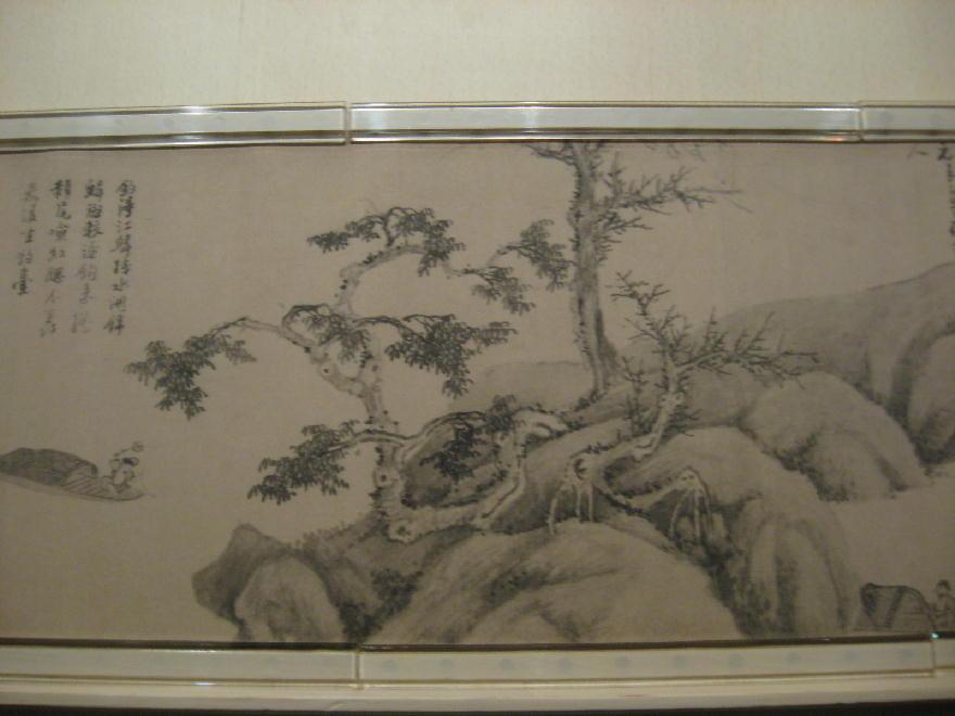 dipinto dìnastia Yuan 元代 ( 1279-1368) - wuzhen ( rotolo 5 metri )