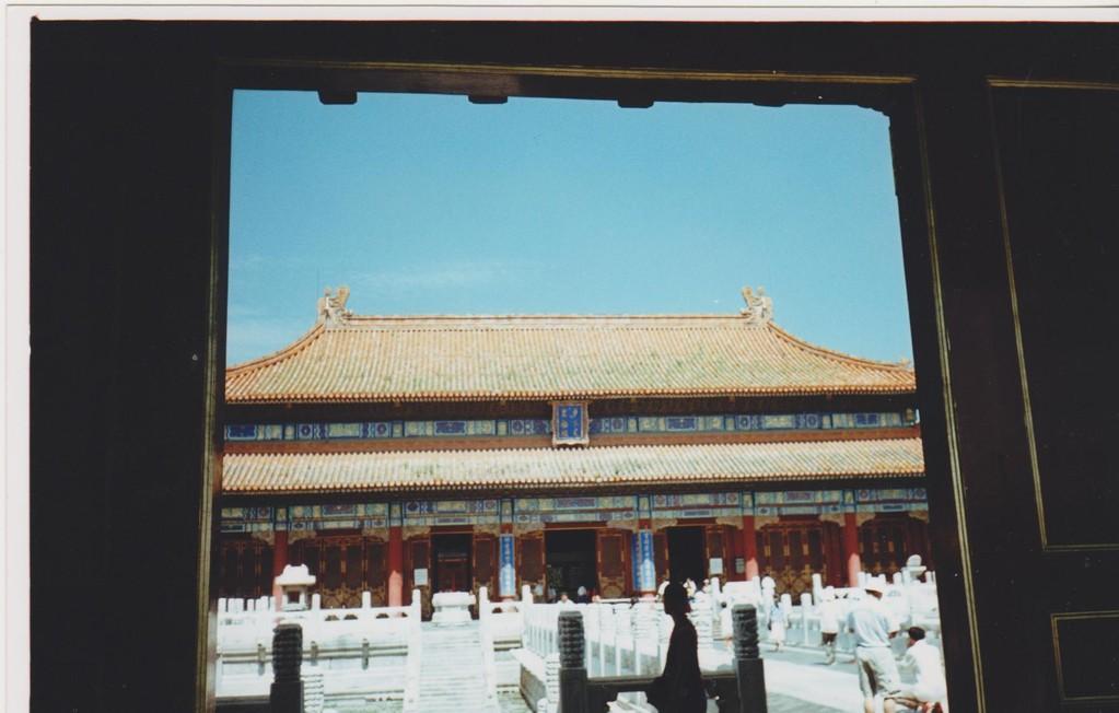 Pechino - città proibita - palazzo del trono