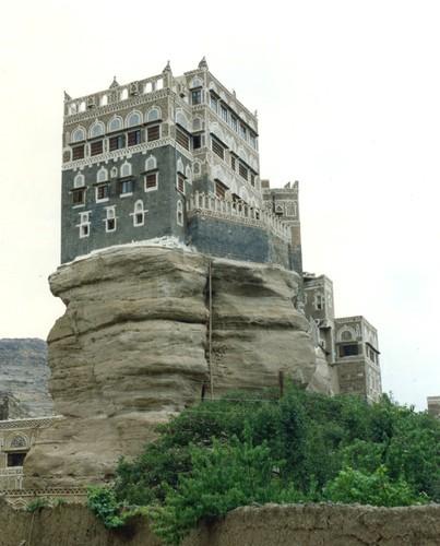 Yemen - Sada'a palazzo amadal al asimah