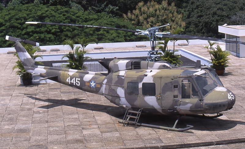 Ho Chi Minh city museo storia elicottero americano