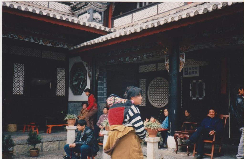 Lijiang cortile