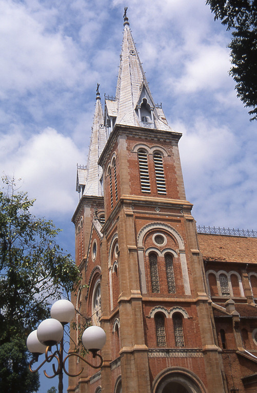 Hochi minh city cattedrale cattolica