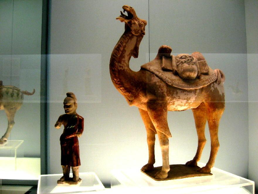 dinastia Tang 唐朝  ( 618-907 DC) - cammello yicai